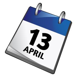 13th April