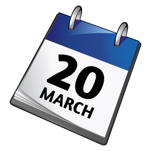 20th March