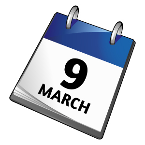 New Term Starts 9th & 10th March